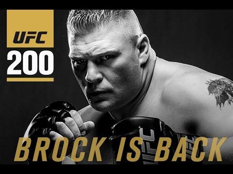 Brock Lesnar on WWE Career, UFC 200, Stephanie McMahon