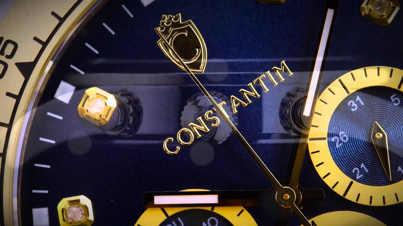 c6884ebf4ea CONSTANTIM SWISS MOVEMENT WATCHES - YouTube