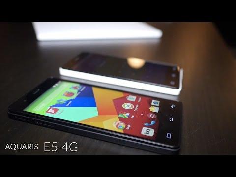 Bq Aquaris E5 4G llega también en versión de 8GB por 199 euros