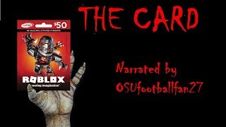 The Card [ROBLOX CREEPYPASTA]