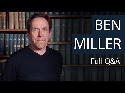 Ben Miller | Full Q&A | Oxford Union