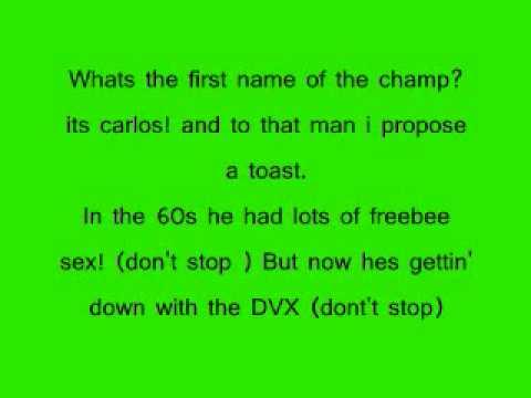 The Lonely Island Ft. E-40 - Santana DVX W/lyrics