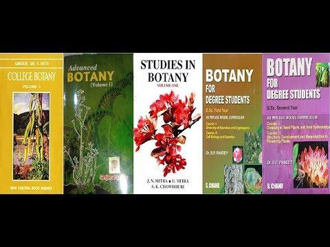 B.sc BOTANY BOOKS,Studies In Botany,College Botany Etc