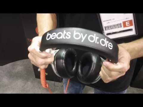 NAMM 2011: Monster shows their new Beats By Dre Pro Headphones. Available at Musician's Friend
