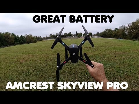 Amcrest A6 B Skyview Pro RC WiFi Drone with Camera HD 720p for Adults