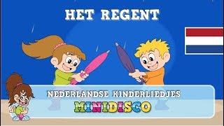 Het Regent | Kinderliedjes | Liedjes voor peuters en kleuters | Minidisco