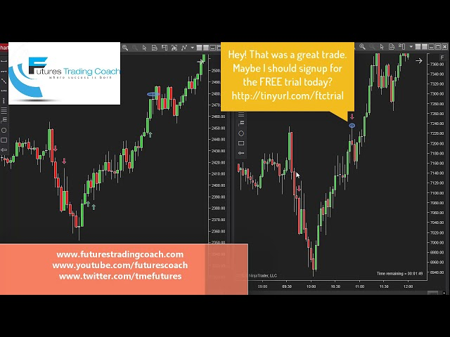 031720 -- Daily Market Review ES CL NQ - Live Futures Trading Call Room