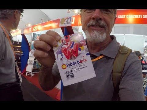 VILLA FELIZ - EPISODE 336: WORLDBEX 2018 (House Building in the Philippines)