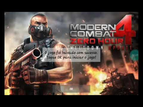 Modern Combat 4(zero HOUR)#1 Início De Gameplay