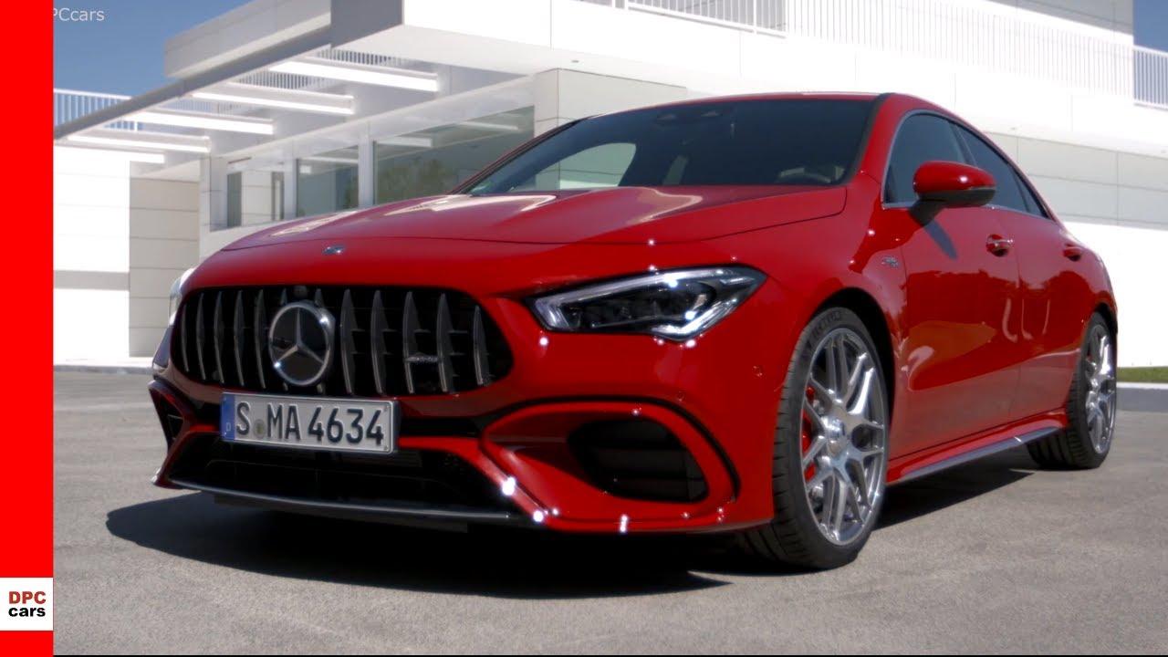 2020 Mercedes Amg Cla45 S 4matic Jupiter Red