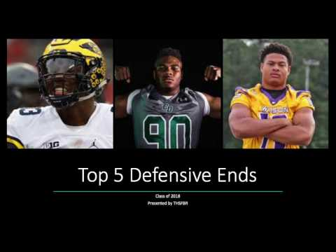 Top Defensive Ends Class of 2018