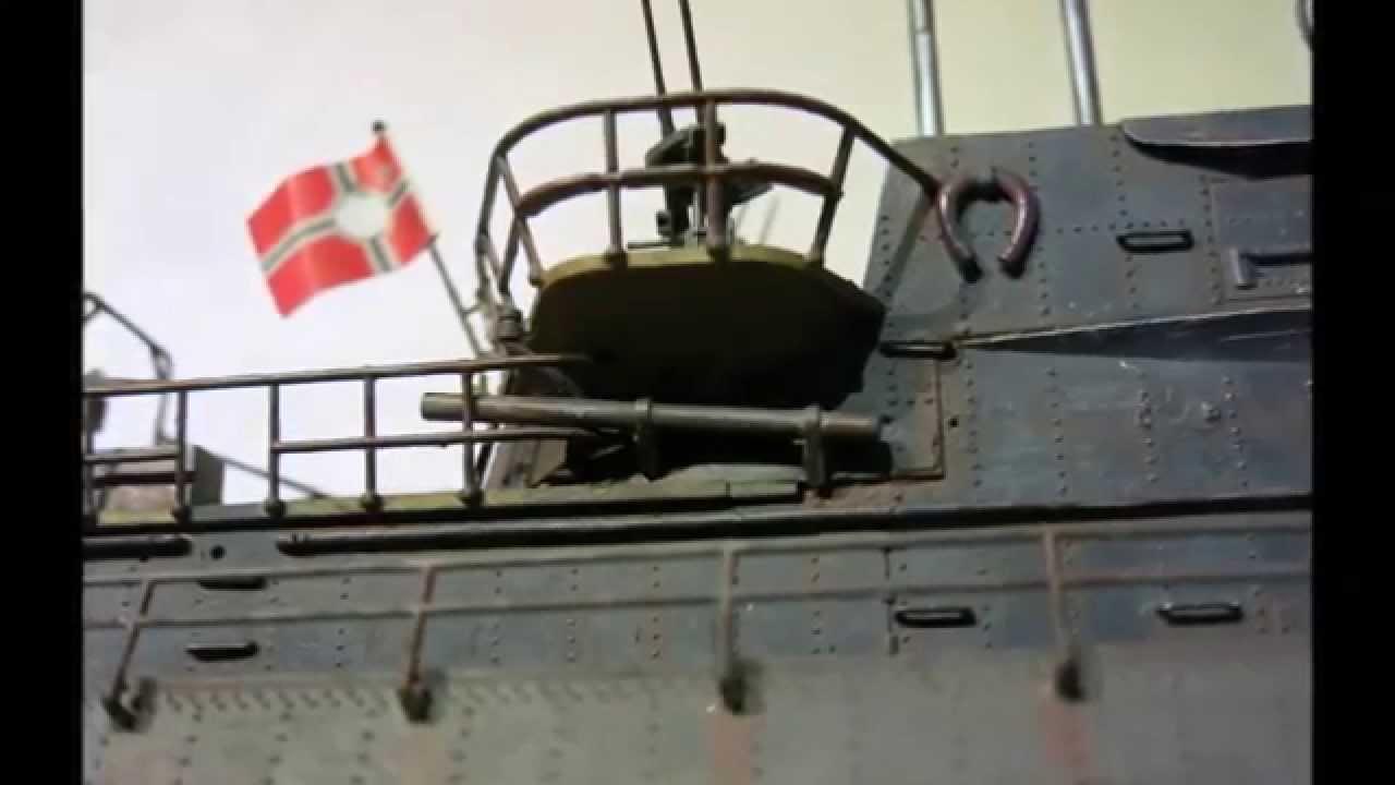 revell 1 72 german submarine u 505 ix c late youtube