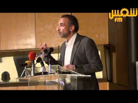 Conférence de Tariq Ramadan au Palais des Congrès à Tunis