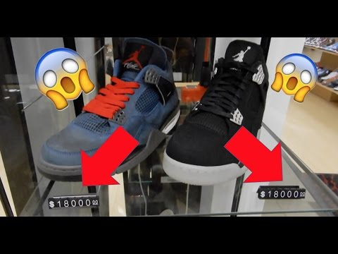 separation shoes 2cc2f a15d2  18,000 Shoes at Kicx Unlimited (Short tour) JORDAN 4 EMINEM , JORDAN 4  RETRO CARHARTT X EMINEM