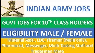 ways to join indian army hindi