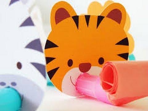 Dia del ni o decoracion facil youtube for Decoraciones de papel