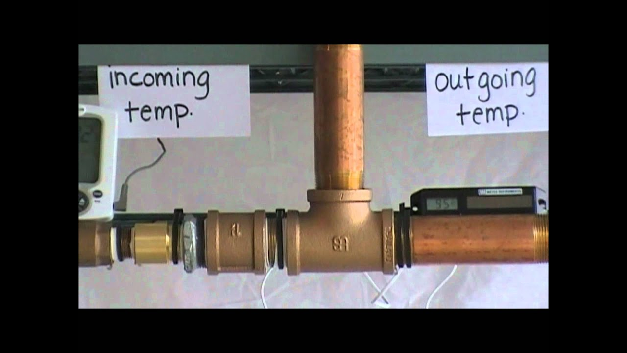 Drain Water Tempering Valve Youtube