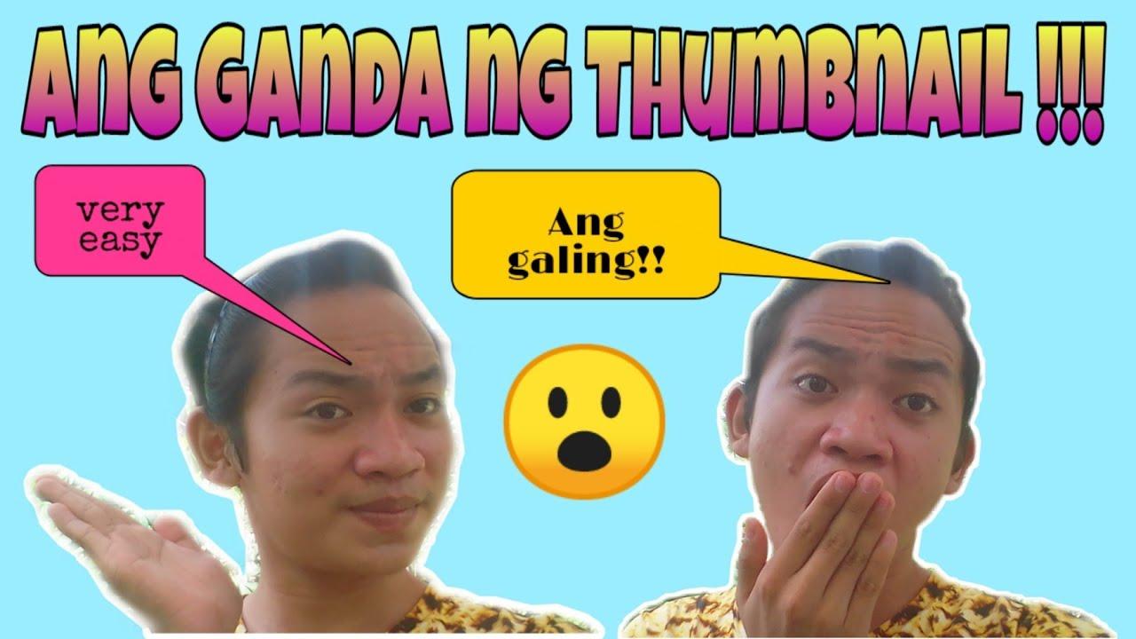 Paano gumawa ng thumbnail ( full tutorial ) | Cris TV