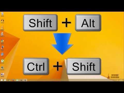 Как изменить переключение языка в Windows 8,  8.1, 10