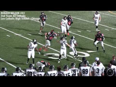 Ronald Nelson highlight reel 2016 Leo Catholic High School