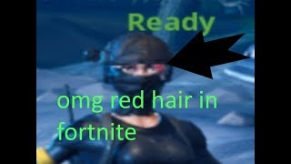 You can change your hair in FORTNITE?! OMG Recon Ops can change their hair color!