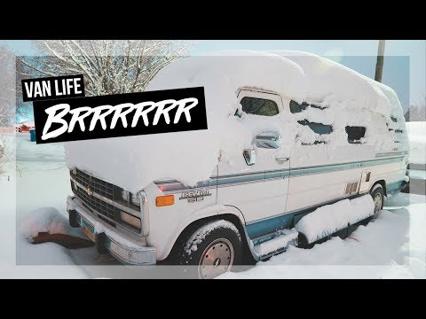 Sleeping In a Camper When It's Cold! | Van Life Family Vlog