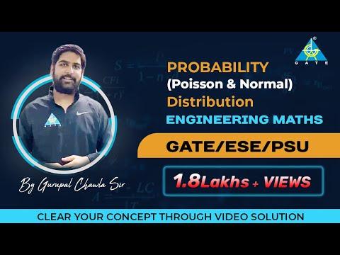 Probability(Poisson & Normal Distribution) | Engineering Mathematics