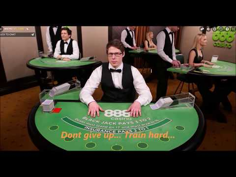 how to train a blackjack dealer