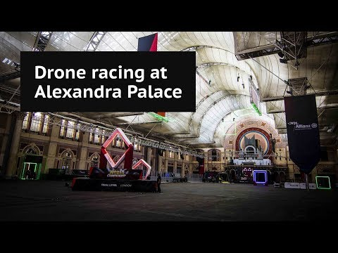 The rise of drone racing: World championship holds its first race in London