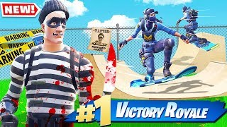 Driftboard MURDER MYSTERY *NEW* Game Mode In Fortnite Battle Royale