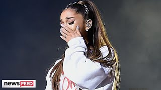 Ariana Grande SPEAKS OUT About Onstage BREAKDOWNS!