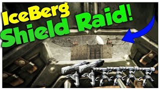 Flak Raiding An Iceberg Base! - Duo Official Small Tribe PvP | Ark Survival Evolved | Ep8