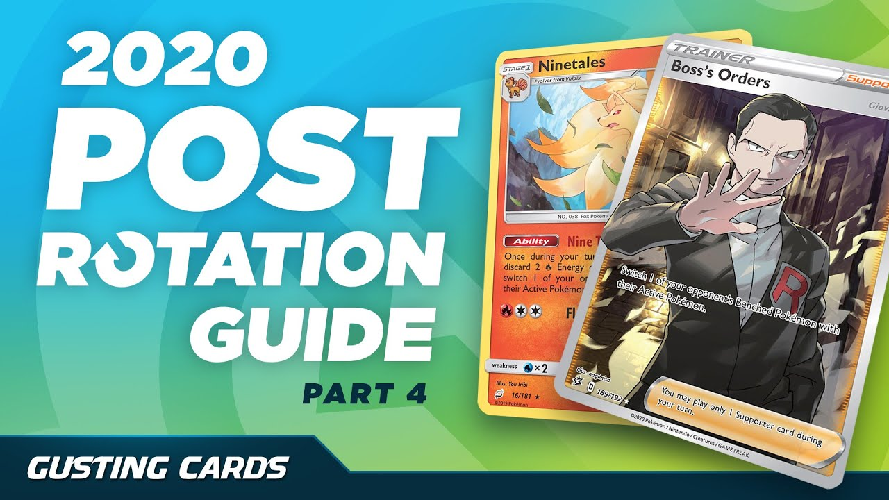 What Survives the 2020-2021 Rotation? Gusting Cards (Pokemon TCG)
