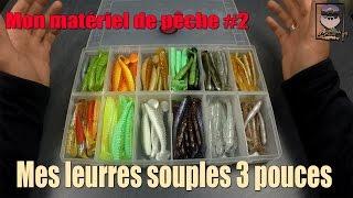 Gambar cover Mon matériel de pêche #2 : Mes Leurres souples 3 pouces ( sandre, perche, brochet, black bass...)