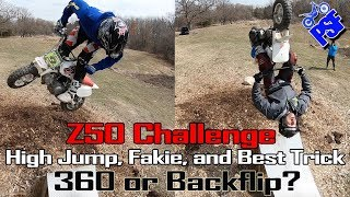 The PSF Z50 Challenge - High Jump, Fakie, and Best Trick