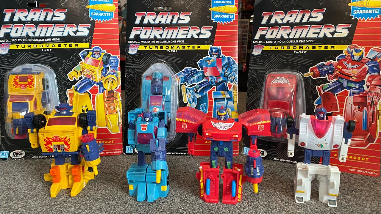Transformers G1 Complete Turbomasters Collection by Toys Are Russ