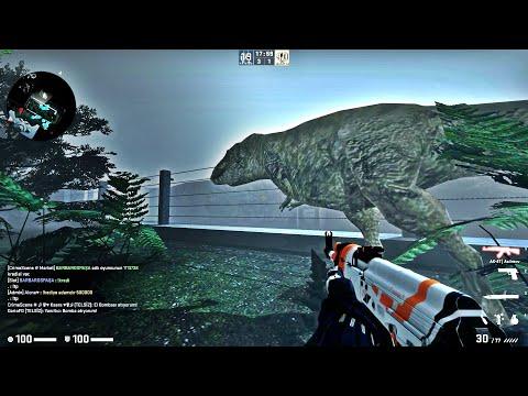 CS:GO - Zombie Escape Mod - Ze_JurassicPark_P2   CrimeScene