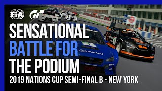 Sensational Battle For 2nd Place in the FIA Gran Turismo Championship