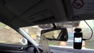 Как снять плафон салонного освещения Skoda Octavia A5 2013