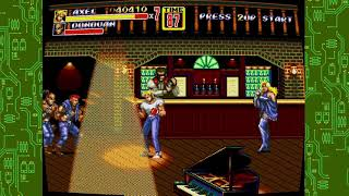 Streets of rage 2 axel s rage uppercuts n body slams stage 1 gameplay xbox 360