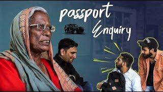 Passport Enquiry Episode 2    How Passport verification done?     Kiraak Hyderabadiz