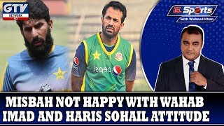 Misbah not happy with Wahab, Imad and Haris Sohail Attitude |G Sports with Waheed Khan 14th Oct 2019