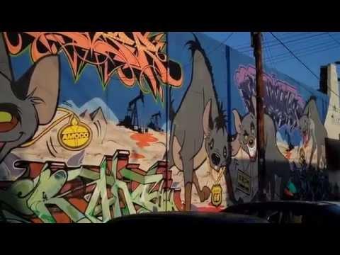 The Seventh Letter - Oil Hyenas - Graffiti Krew