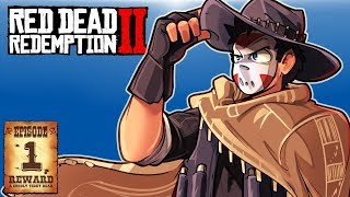 IT'S TIME!!!! I'M AN OUTLAW - RED DEAD REDEMPTION 2 - FIRST EPISODE!