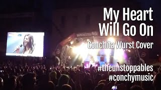 My Heart Will Go On – Conchita Wurst Cover – Celine Dion – Manchester Pride 2014 #theunstoppables