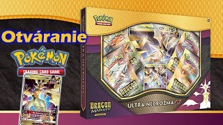 Pokémon Dragon Majesty-Collection Ultra Necrozma GX Box