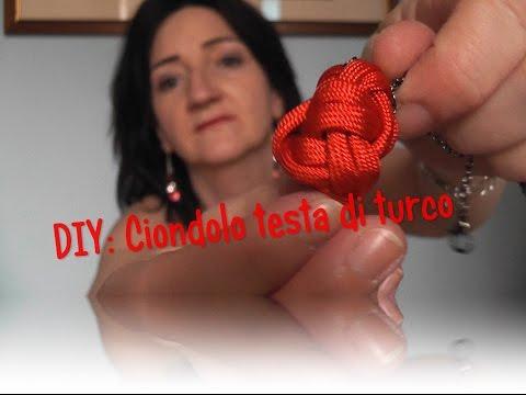 DIY: Ciondolo testa di turco
