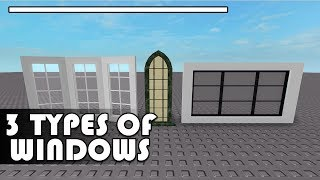[ROBLOX] 3 Types of windows - Tips and Tricks - F3X - Building