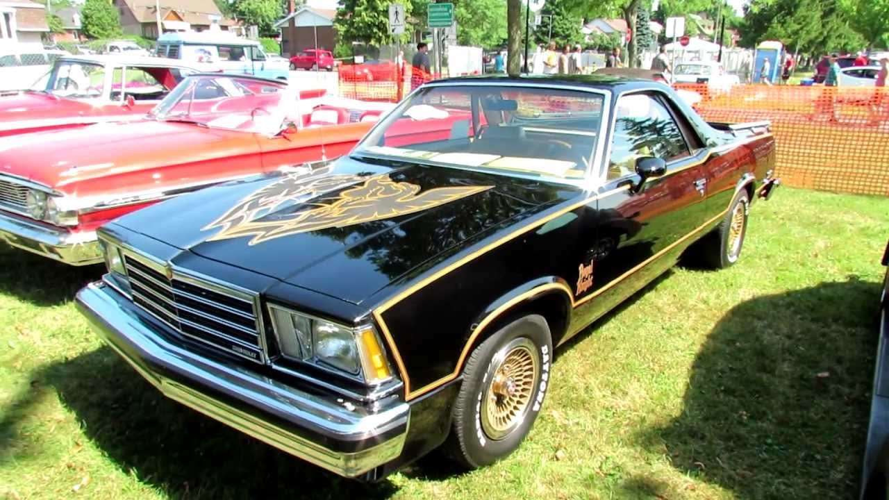1979 Chevrolet El Camino Exterior And Interior 2012 Granby
