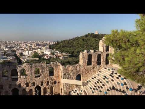 The Theater of Dionysus at the Acropolis in Athens. #athens #acropolis